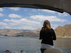 The Eldest of three, Fernanda fishing like a pro!