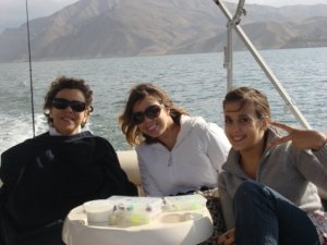 My mom and older sisters Ana Paula and Fernanda