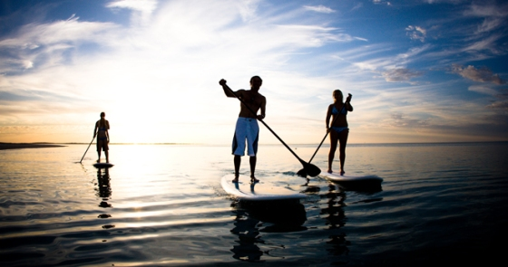 Stand-Up-Paddle-Boarding-at-Tumby-Bay